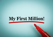 My first million Stock Photography