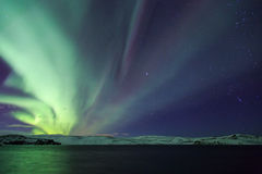 My first Northern lights of 2014 Royalty Free Stock Photography