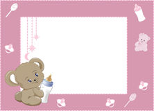 My first photo frame pink 2 Royalty Free Stock Photography