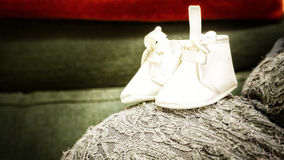 My First Shoes Stock Photo