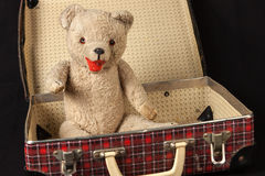 My first teddy bear Royalty Free Stock Images