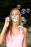 My free bubbles. Royalty Free Stock Photo