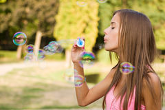 My free bubbles. Royalty Free Stock Photos