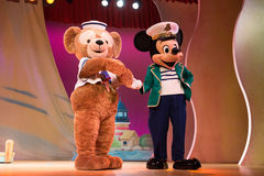 My Friend Duffy stage show in Japan Stock Photography