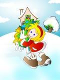 My gift stock illustration