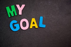 My Goal royalty free stock images