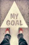 My goal concept Stock Photos