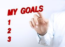My goals Royalty Free Stock Photography