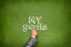 My goals concept Stock Images