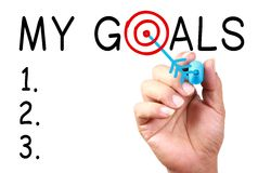 My Goals Royalty Free Stock Image