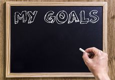 My goals Stock Photography