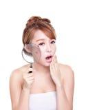 My god here is a acne Stock Photos