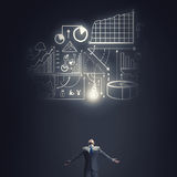 My great plan Stock Images