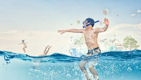 My great summer vacation Royalty Free Stock Images