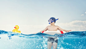 My great summer vacation Royalty Free Stock Image