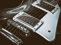 My Guitar. Close up picture of my Les Paul guitar Royalty Free Stock Images