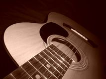 My guitar ; music is life Royalty Free Stock Image