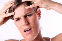 My head hurts Royalty Free Stock Photo