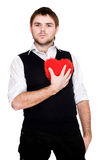 My heart belongs to me Stock Photography