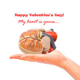My Heart Is Yours Royalty Free Stock Photography