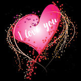 My heart for you Royalty Free Stock Photos