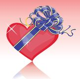 My heart for you-Vector Royalty Free Stock Images