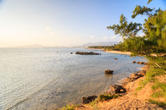 My Hiep beach in sunset, Ninh Thuan, Vietnam Royalty Free Stock Image