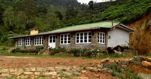 This is my holiday house in ohiya royalty free stock images