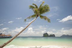 My holiday. The Ngai Beach in Thailand Royalty Free Stock Photos