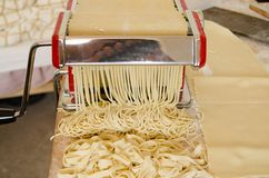 My Homemade Noodles Stock Images