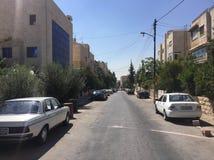 My hometown. A neighborhood in Amman Jordan called Jabal Al stock image