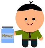 My honey Royalty Free Stock Photography