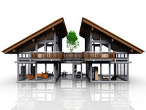 My house. A very nice and design house Stock Photo
