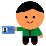 My identification Stock Photo