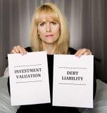 My Investment Situation Sucks! Stock Photo