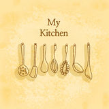 My kitchen Royalty Free Stock Images