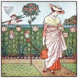 My Lady's Garden Stock Image