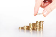 My last coins Stock Image