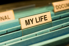 My Life Story Memoirs Royalty Free Stock Photos