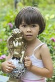 My little angel. Royalty Free Stock Photography