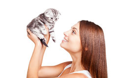 My little furry friend. Stock Photography