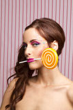 My little lollipop Royalty Free Stock Photo