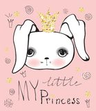 My little princess Royalty Free Stock Image