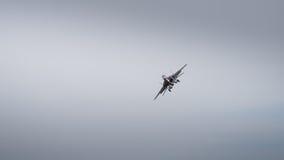 Myśliwa odrzutowego samolotu lot Obrazy Royalty Free
