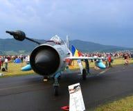 Myśliwiec odrzutowy Zdjęcia Royalty Free