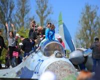 myśliwiec stary Zdjęcia Stock