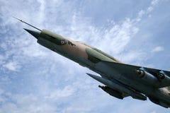 Myśliwski Bojowy samolot MIG 21 Obraz Royalty Free