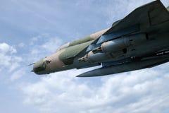 Myśliwski Bojowy samolot MIG 21 Fotografia Royalty Free