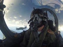 Myśliwski pilot Fotografia Royalty Free
