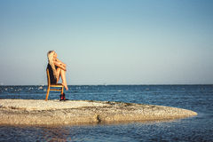My loneliness Royalty Free Stock Images